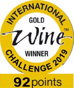 international wine challenge gold2019 92pts logo