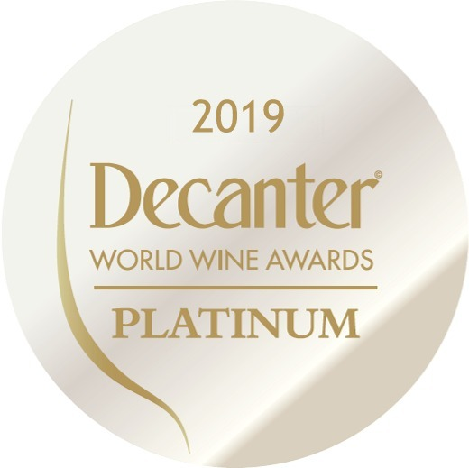 decanter platinum 2019 medal