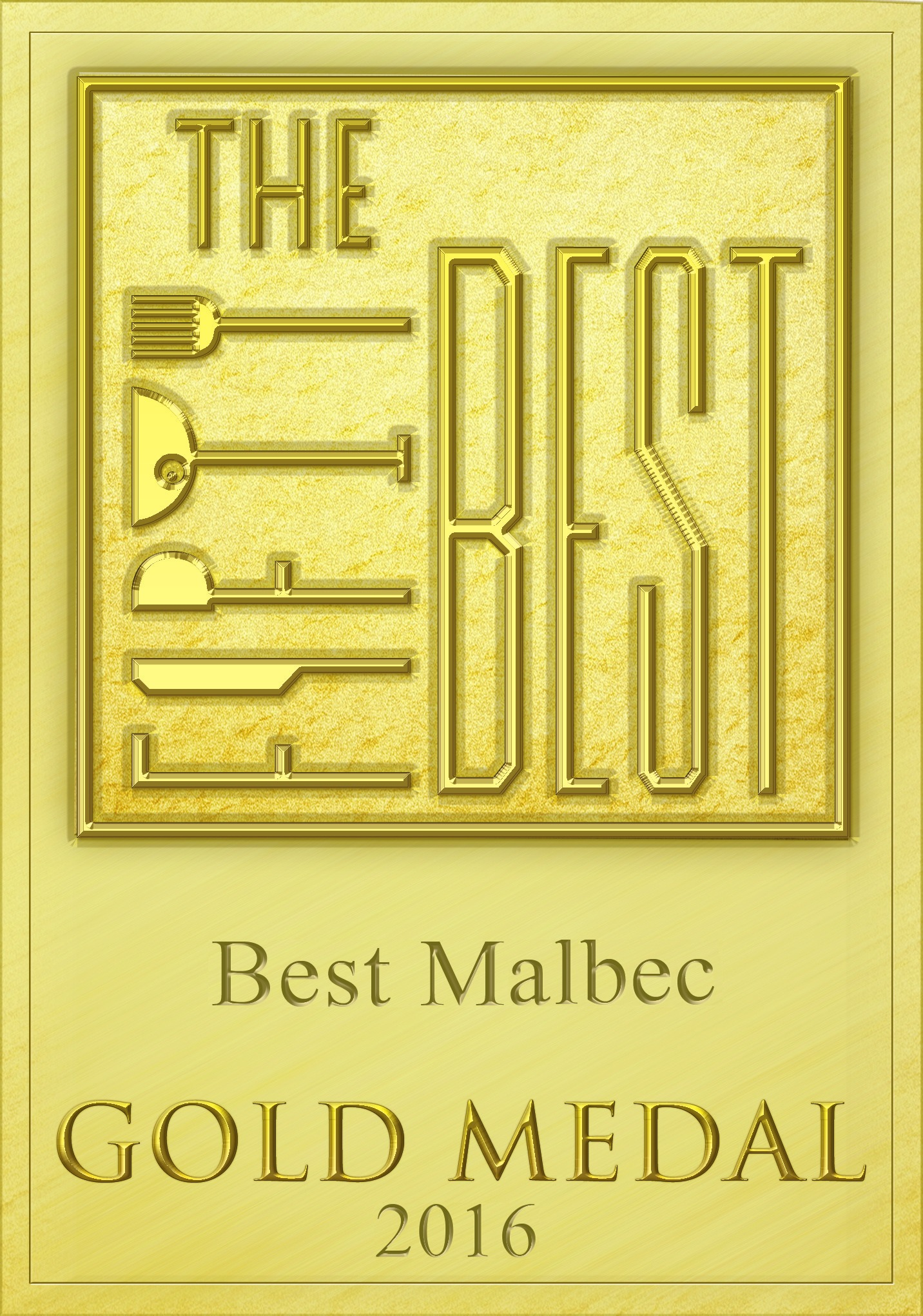 best malbec gold 2016 award