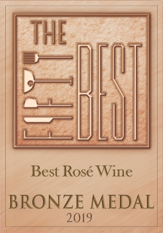 thefiftybest rose wine bronzemedal 2019