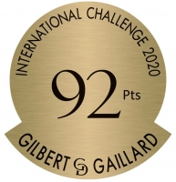 gilbert et gaillard international challenge 2020 gold 92 pts medal