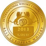 International Whisky Competions 2013 Gold