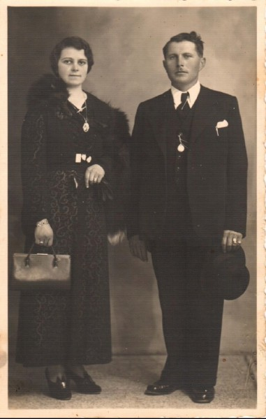 pierin valetta and his wife Maggiorina
