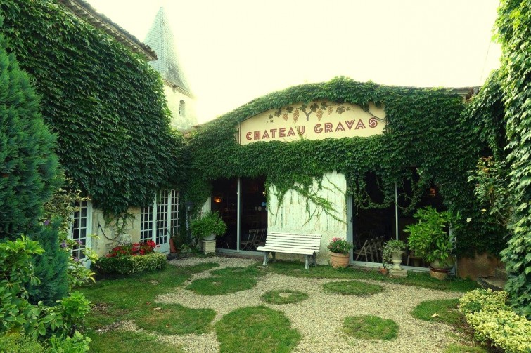 gravas patio
