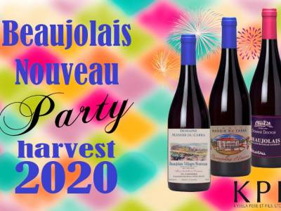 Beaujolais Nouveau day is November 19, 2020!