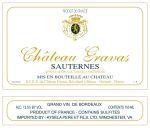 gravas_sauternes_label