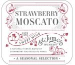 stjames_strawberry_moscato_label