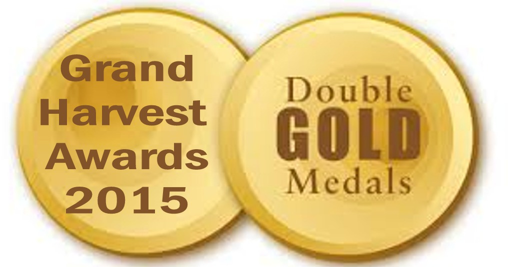 grand harvest award double gold logo