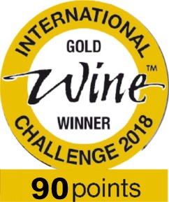 international wine challenge gold2018 90pts logo