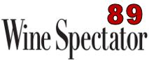 Wine Spectator 89 pPts